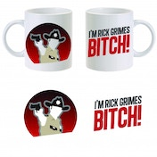 The Walking Dead Rick Grimes Bitch Mug ZT