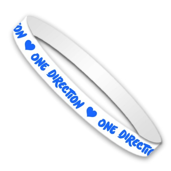 One Direction - Colours Gummy Wristband