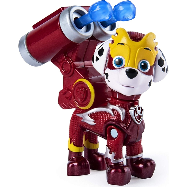 Paw Patrol Mighty Pups Super Paws Figure - Marshall
