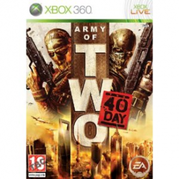 Army of Two The 40th Day Game Xbox 360