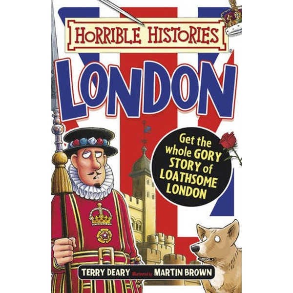 Gruesome Guides: London by Terry Deary (Paperback, 2016)