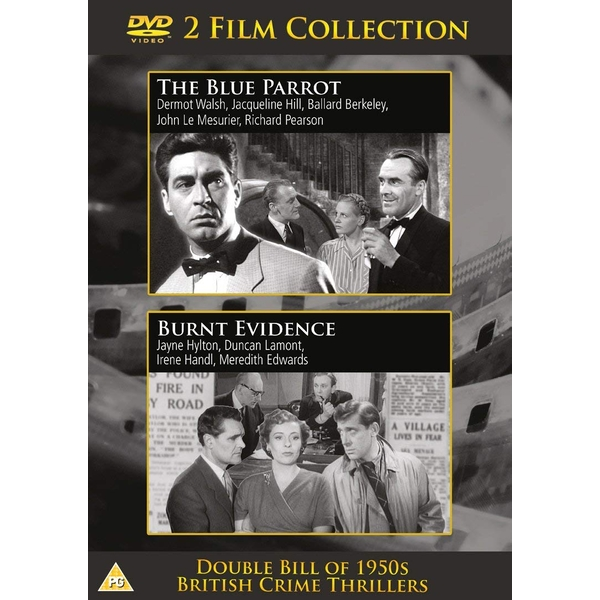 2 Film Collection - The Blue Parrot / Burnt Evidence DVD
