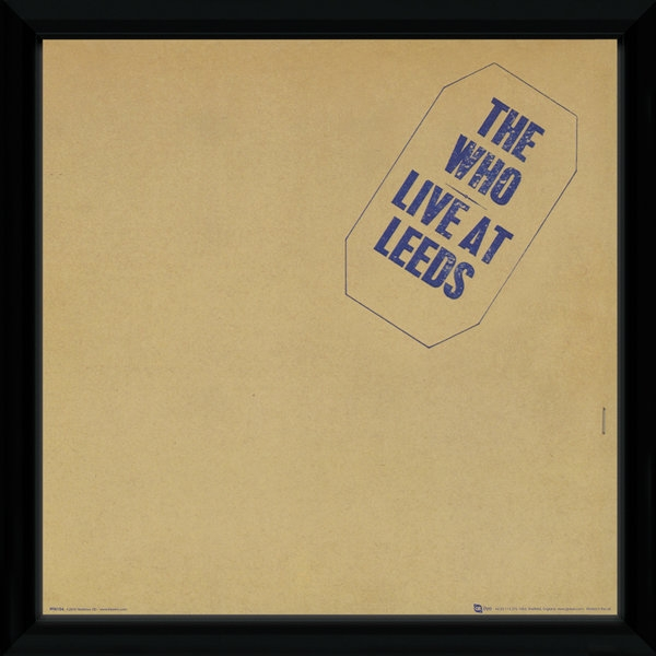 "The Who Leeds 12"" x 12"" Framed Album Cover - Image 1"