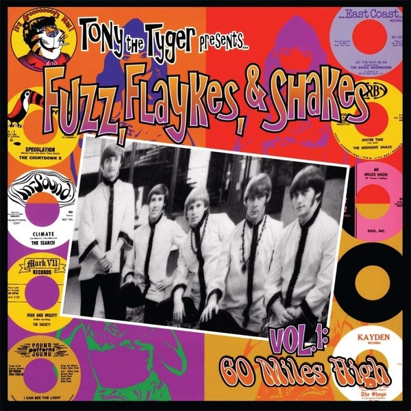 Various Artists - Fuzz. Flaykes And Shakes Limited Red  Vinyl