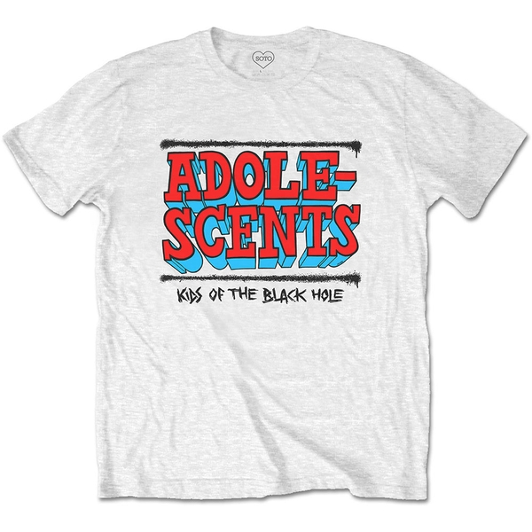 The Adolescents - Kids Of The Black Hole Unisex Small T-Shirt - White