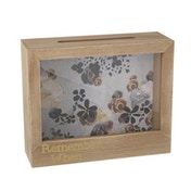 Floral Patterned Money Memory Box