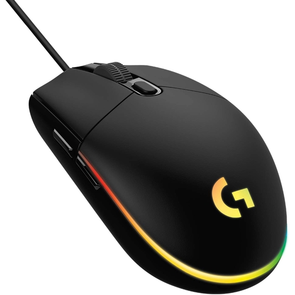 Image of G203 LIGHTSYNC Gaming Mouse with Customizable RGB Lighting Black