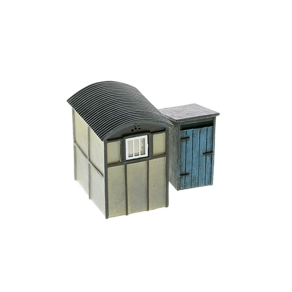 Hornby Utility Lamp Huts x2 Model