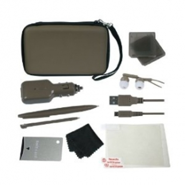 Crown Deluxe 12-in-1 Accessory Pack Brown DSI XL