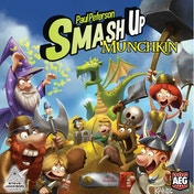 Smash Up Munchkin Card Game