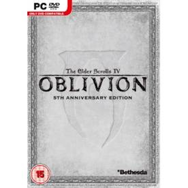Elder Scrolls IV Oblivion 5th Anniversary Edition Game PC