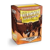 Dragon Shield Matte - Copper 100 Sleeves In Box - 10 Packs