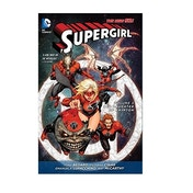 Supergirl Volume 5 Red Daughter Of Krypton New 52 Paperback