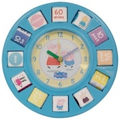 Peppa Pig Time Teaching Clock