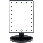 LED Light Up Illuminated Make Up Bathroom Mirror With Magnifier Green House White