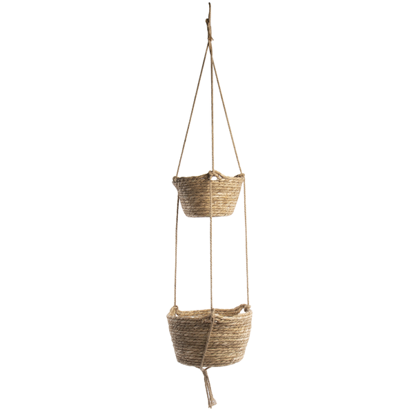 Two Tier Hanging Seagrass Planter | M&W
