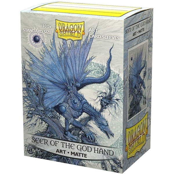 Dragon Shield - Seer of the God Hand Matte Classic Art Sleeves - 100 Sleeves
