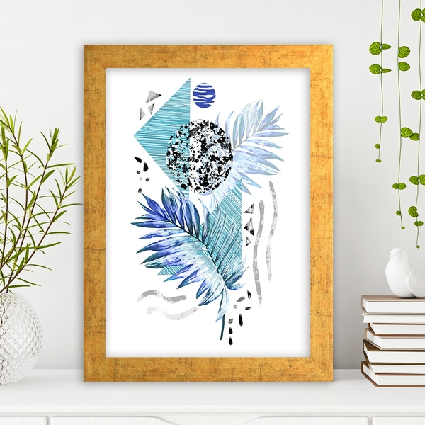AC649099072 Multicolor Decorative Framed MDF Painting