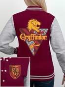 Harry Potter - House Gryffindor Women's Medium Varsity Jacket - Red