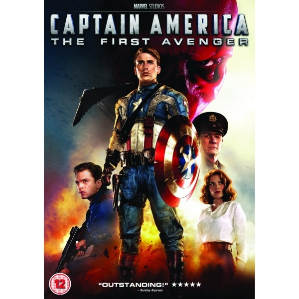 Captain America The First Avenger DVD