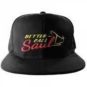 Better Call Saul Logo Embroidered Snapback Cap