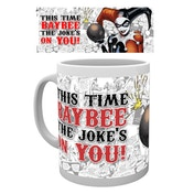 Batman Comic - Harley Quinn Jokes on You Mug
