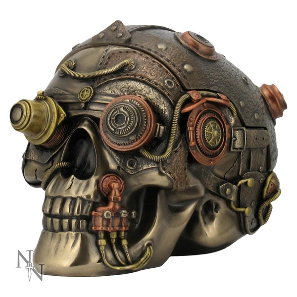 Cranial Optic Enhancer Steampunk Skull