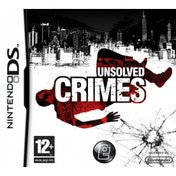 Unsolved Crimes Game DS