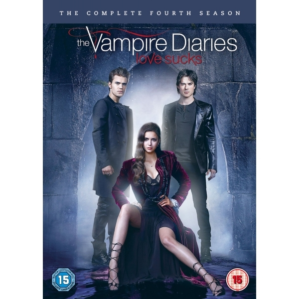 The Vampire Diaries Season 4 2013 DVD