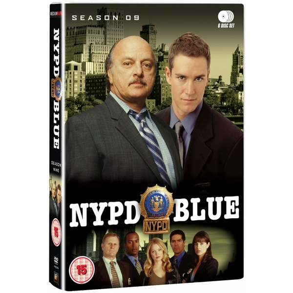 NYPD Blue Complete Season 9 DVD