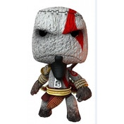 Little Big Planet Kratos Sackboy Keyring
