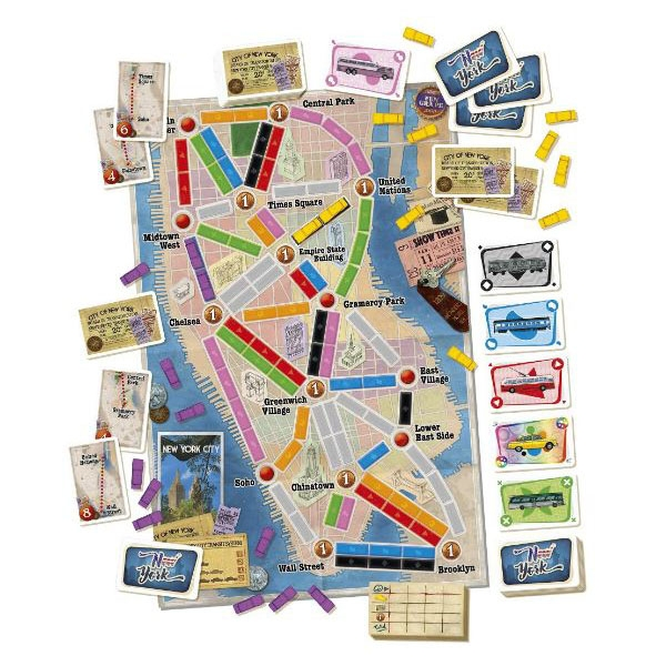 Ticket To Ride: New York - Image 3