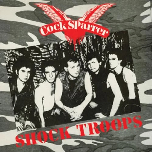 Cock Sparrer ‎- Shock Troops Cassette