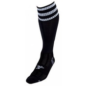 PT 3 Stripe Pro Football Socks Mens Black/White