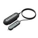 "Hama ""2+3 Power Extension"" USB Car Charger, 10A, 2 m, black"