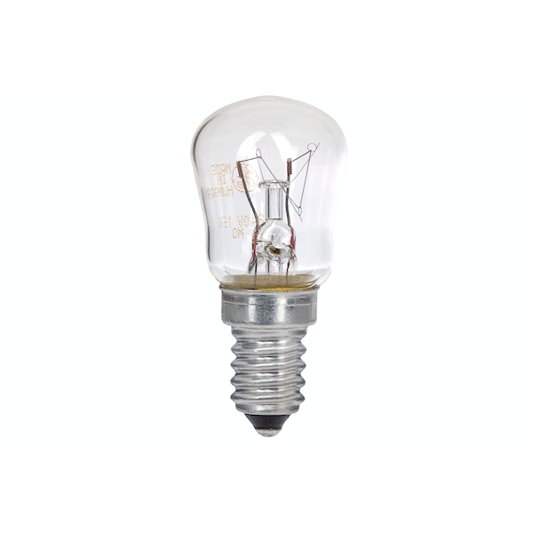 Maplin DS48 15W E14 SES Pygmy Freezer 240v Lamp Light Bulb - Clear