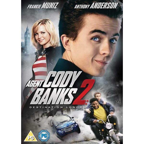 Agent Cody Banks 2 DVD