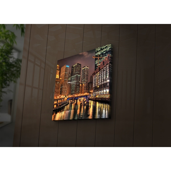 2828?ACT-53 Multicolor Decorative Led Lighted Canvas Painting