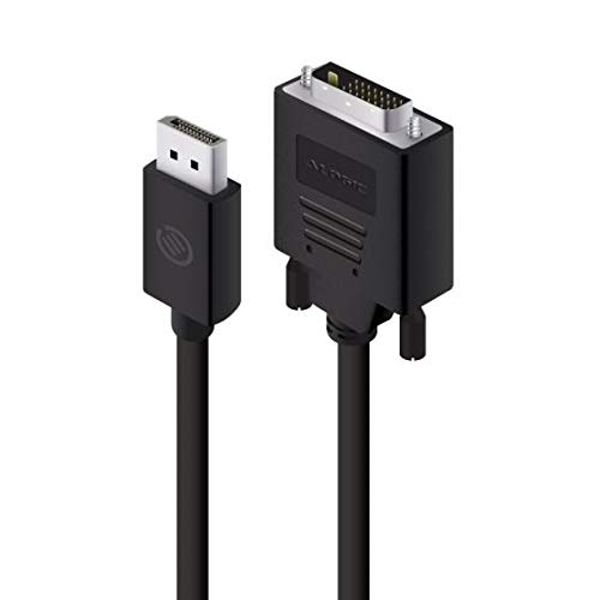 ALOGIC DisplayPort to DVI-D Cable Male to Male - Elements Series (2 M)