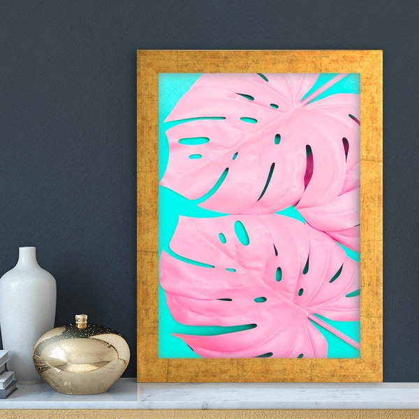 AC10545876532 Multicolor Decorative Framed MDF Painting