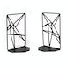 Geometric Bookends | M&W Black - Image 2
