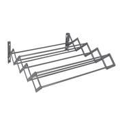 Wall Mounted Extendable Clothes Airer Grey | Pukkr
