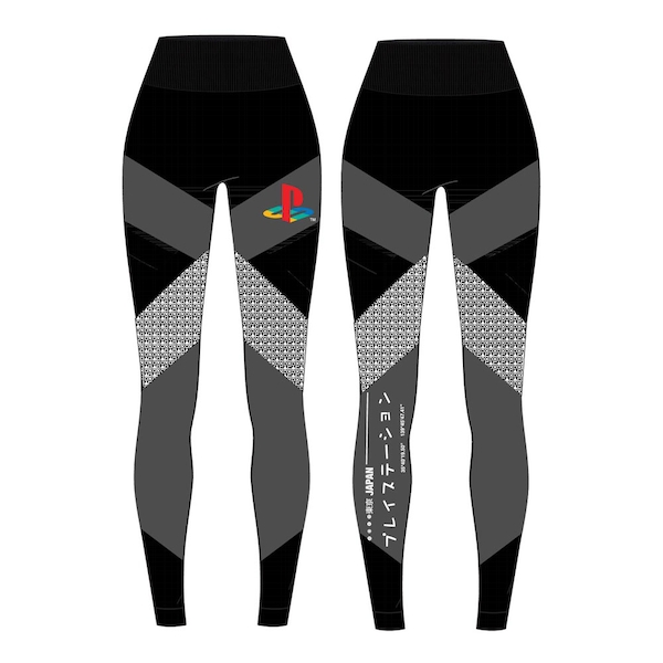 Sony - Playstation Tech Women's Large Leggings - Black