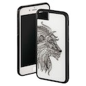 """Hama """"Aslan"""" Cover for Apple iPhone 6/6s/7/8, white/black"""