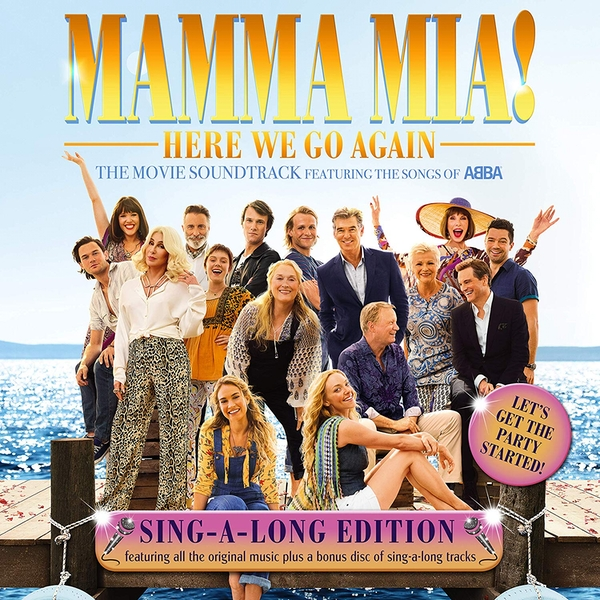 Mamma Mia Here We Go Again (Sing Along Edition) Soundtrack OST CD