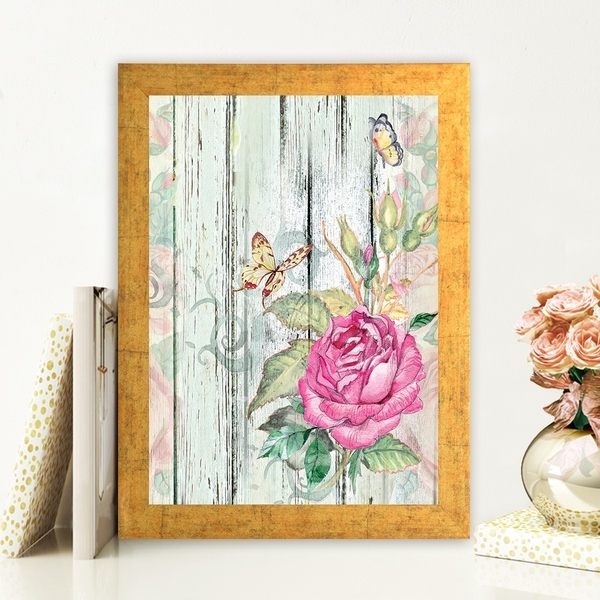 AC151728446 Multicolor Decorative Framed MDF Painting