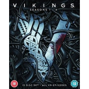 Vikings: Seasons 1-4 Blu-ray