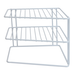 2 Tier Cupboard Corner Shelf | M&W - Image 3