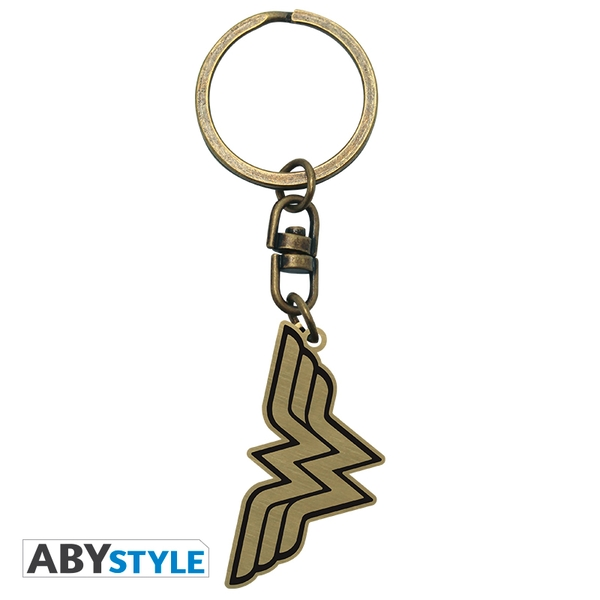 DC Comics - Wonder Woman Logo Metal Keyring