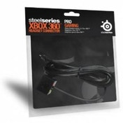 SteelSeries Xbox Headset Connector In Black Xbox 360